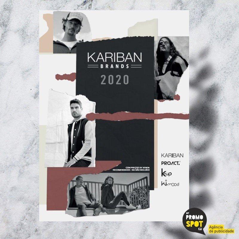 Catalogos Kariban Vestuário Têxteis