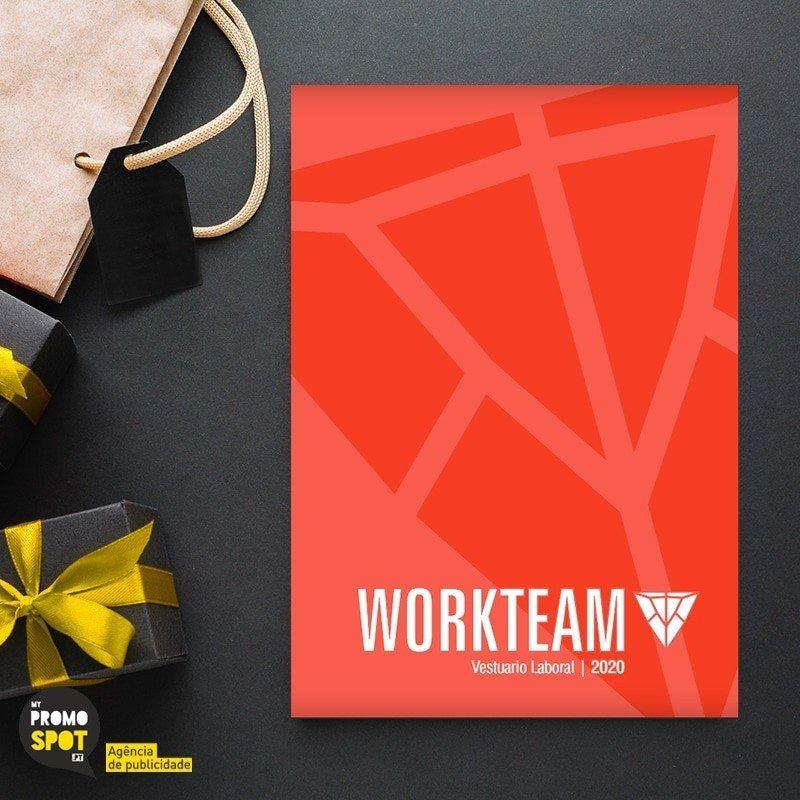 catalogos workteam vestuário laboral