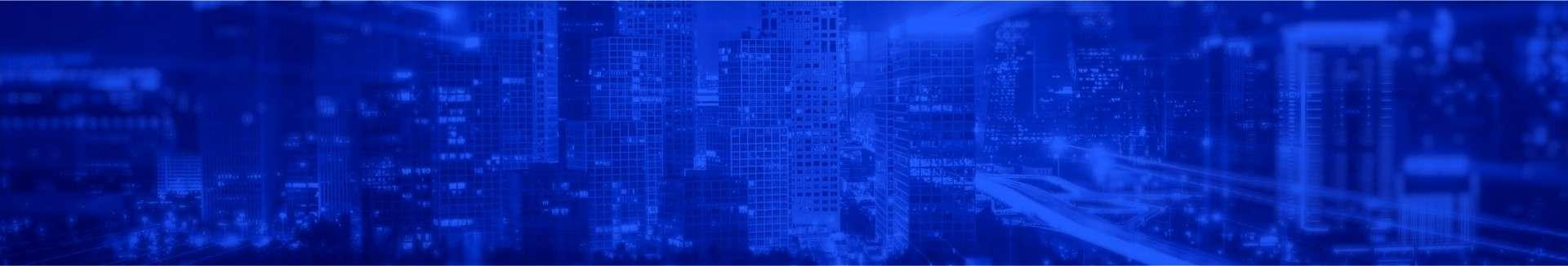 política de privacidade fundo cidade azul